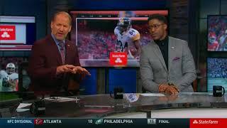 NFL on CBS StateFarm Post Game Show 2018 AFC Divisional Round TEN@NE