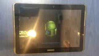 Samsung Galaxy TAB 2 10.1 Hard - factory reset , P5100