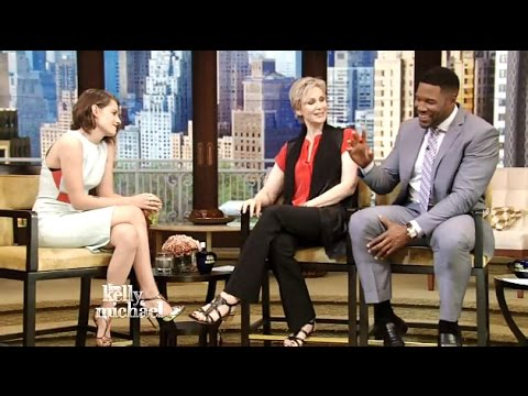 Kristen Stewart - Interview (American Ultra) - Live! With Kelly & Michael