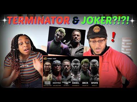 "Mortal Kombat 11 Official ""Kombat Pack Roster Reveal"" Trailer REACTION!!"