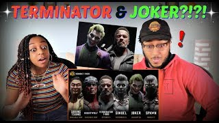 "Mortal Kombat 11 Official ""Kombat Pack Roster Reveal"" Trailer REACTION!!"
