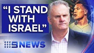 Mark Latham defends Israel Folau in maiden NSW Parliament speech | Nine News Australia
