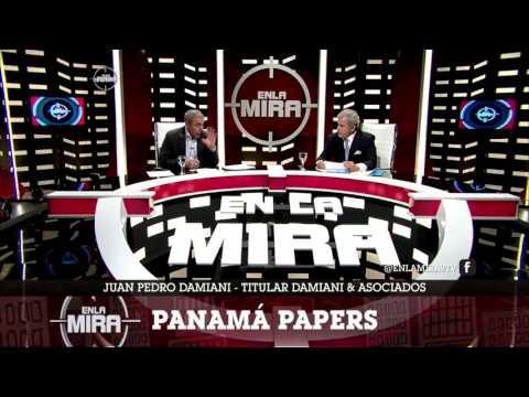 ENTREVISTA A JUAN PEDRO DAMIANI - PANAMÁ PAPERS