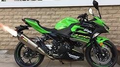 Kawasaki Ninja 400 Scorpion Serket Taper Slip On Exhaust