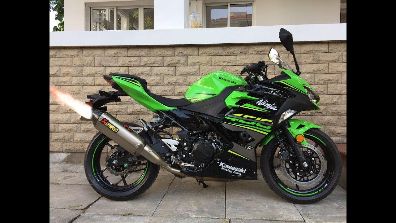 Kawasaki Ninja 400 | Akrapovic Titanium Slip On Exhaust
