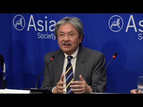 Hong Kong's Financial Secretary on the Chinese Economy
