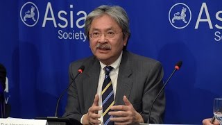 hong kong s financial secretary on the chinese economy