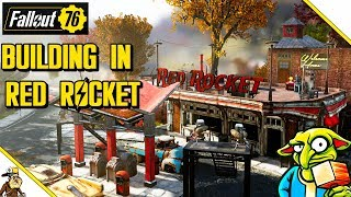 Fallout 76 Building - Red Rocket Base (Fallout 76 Base Building Guide)