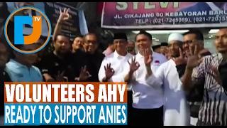 relawan ahy deklarasi siap dukung anies baswedan dan sandiaga uno laparmatajakartamoa
