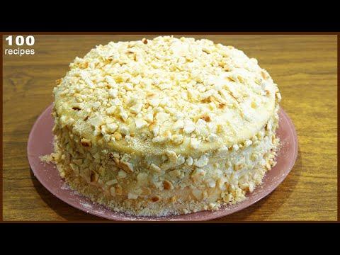 """Очень Вкусный Торт """"Наполеон"""" на Сковороде Простой Рецепт на Праздник"""