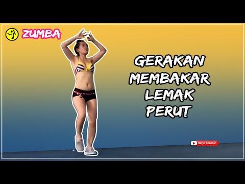 Senam Aerobic Membakar lemak untuk mengecilkan perut