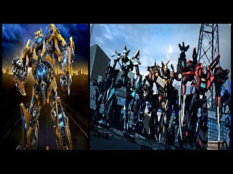 Transformers - Bumblebee Movie - Cast Robots (2018) Speculations