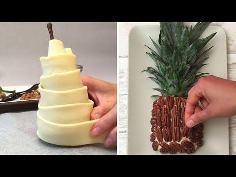 la-poire-momie-😋l'ananas-trompe-l'oeil-😳et-autres-desserts-fruitÉs-🍉