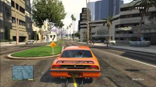 GTA 5 DRAGSTER TERROR OLD MUSCLE CAR