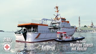 Ship Simulator: Maritime Search and Rescue | Tutorial | 4K 2160p
