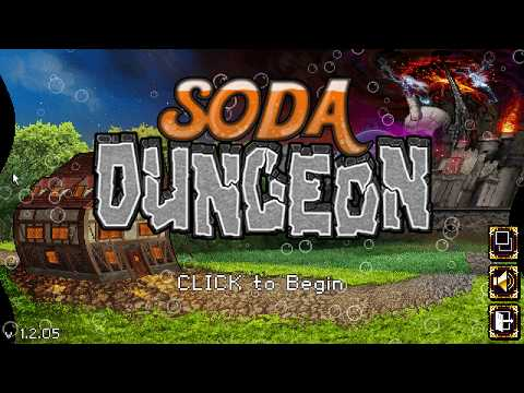 Soda Dungeon Part 1 Adventures, raid's, upgrades, bosses and treasures