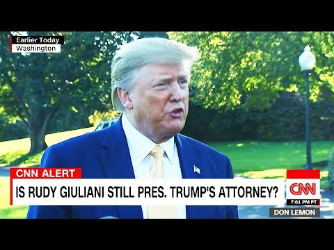 """Panicked Trump """"Doesn't Know"""" If Rudy is His Lawyer"""