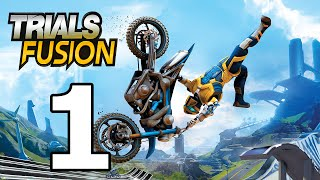 Trials Fusion Walkthrough Part 1 - No Commentary Playthrough (PC)