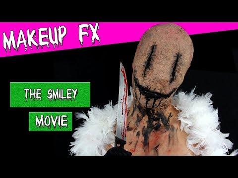 Le Smiley film Horreur Halloween maquillage tutoriel - YouTube