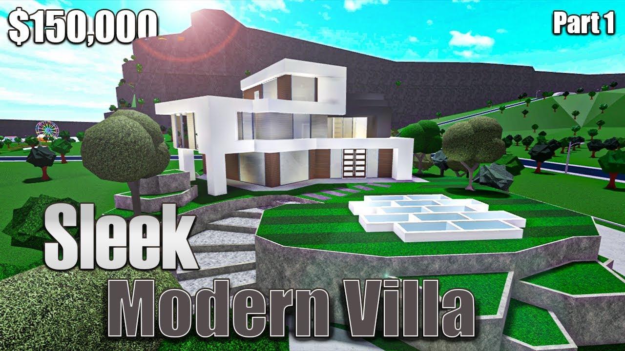 Roblox Bloxburg Cozy Mountain Mansion 105k How To Get Roblox Bloxburg Modern Villa 105k Cute766
