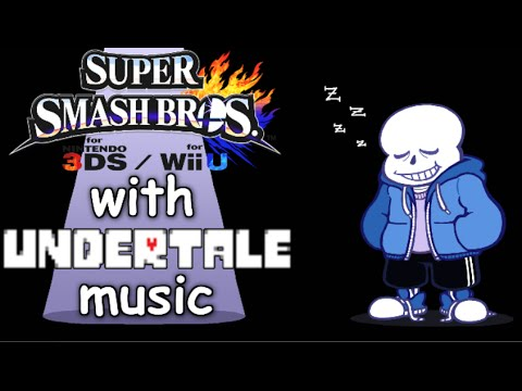 Undertale Collection - Super Smash Bros Wii U Custom Music