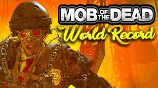 Mob of the Dead 4P Easter Egg Speedrun World Record (17:04)