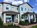 Winter Garden New Homes - Watermark Townhomes by Meritage Homes - Aptos Model
