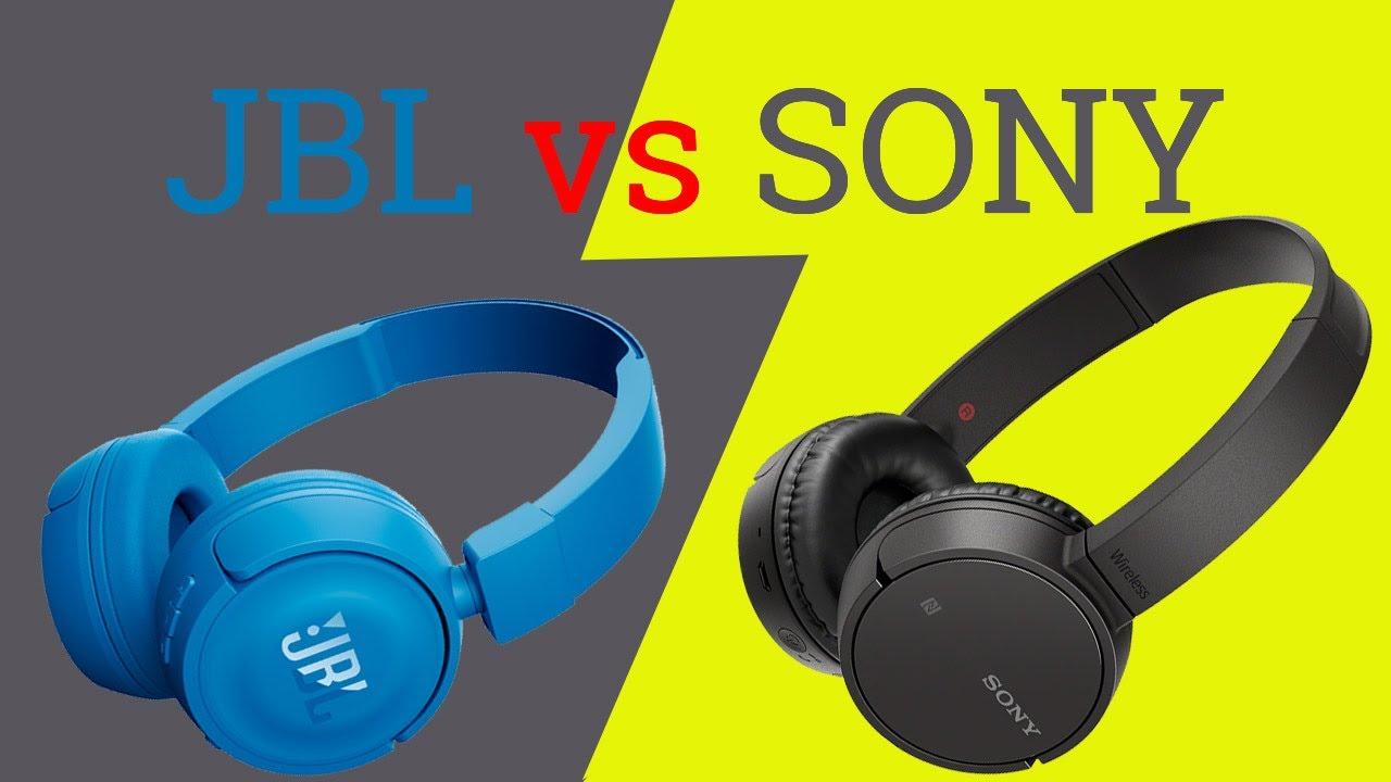 Sony WH-CH500 VS JBL T450BT Bluetooth наушники | Обзор