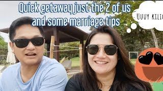 Just Us No Kids Quick Getaway + Marriage Tips! | Camille Prats