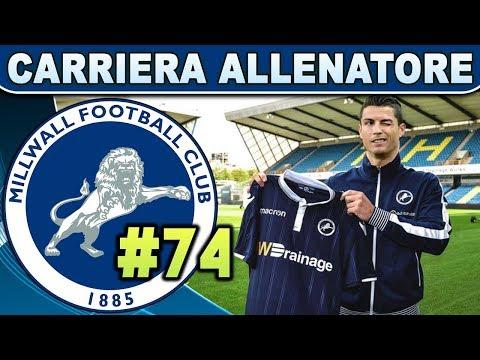 IL PRIMO DERBY DI CR7 [#74] FIFA 19 Carriera Allenatore MILLWALL ★ ULTIMATE