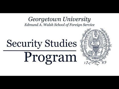 Georgetown University Security Studies Program