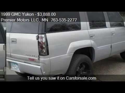 1999 GMC Yukon Denali 4dr 4WD SUV for sale in Crystal Mn