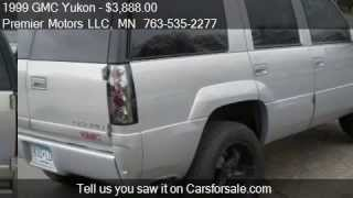 1999 GMC Yukon Denali 4dr 4WD SUV for sale in Crystal Mn