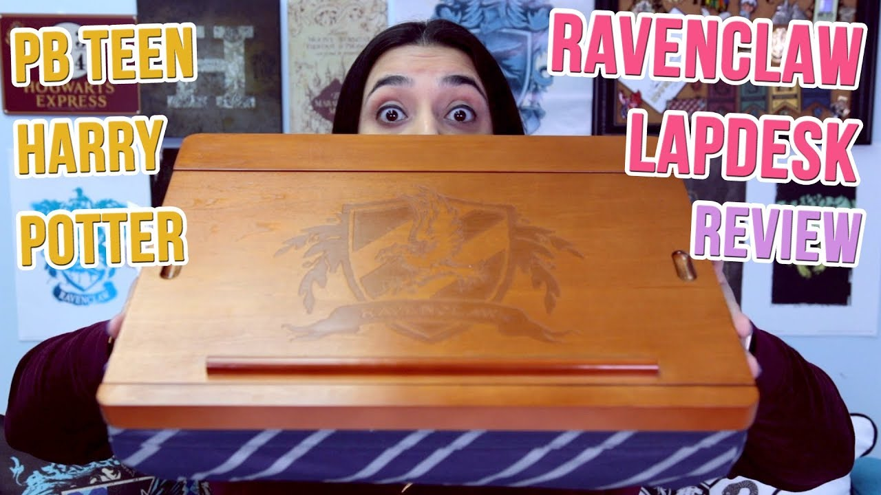 Pbteen Harry Potter Ravenclaw Lap Desk Unboxing And Review
