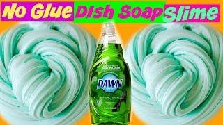 Dish Soap No Glue Slime DIY (Making No Glue Slime) No Glue Dish Soap Slime DIY thumbnail