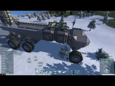 Space Engineers - Mobile Drilling rig