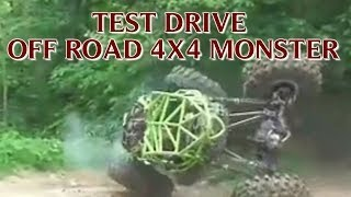 "VIDEO OFF ROAD RACING TEST DRIVE ""MOBIL OFF ROAD MONSTER 4X4 EXTREME"" DI BUKIT GUNUNG !!"
