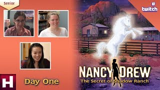 Nancy Drew: The Secret of Shadow Ranch SR [Day One: Twitch] | HeR Interactive