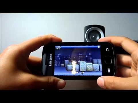 Samsung Galaxy Gio gaming test