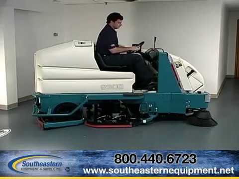tennant 8300 sweeper scrubber video operators manual youtube rh youtube com Tennant Machines Batteries Tennant Floor Scrubber Model 5700XP