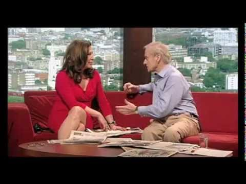 Harold Evans and Amanda Platell review the Sunday papers May 27 2012 with Andrew Marr