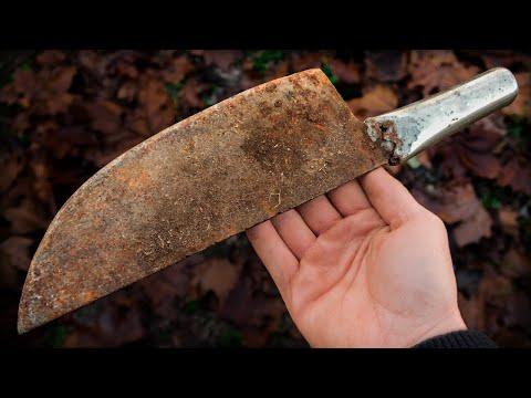 Trash To Cash! Knifemaking / Restoration Of The UGLIEST Flea Market Knife Ever