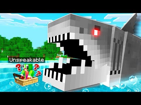 HOW TO SPAWN JAWS IN YOUR MINECRAFT WORLD!