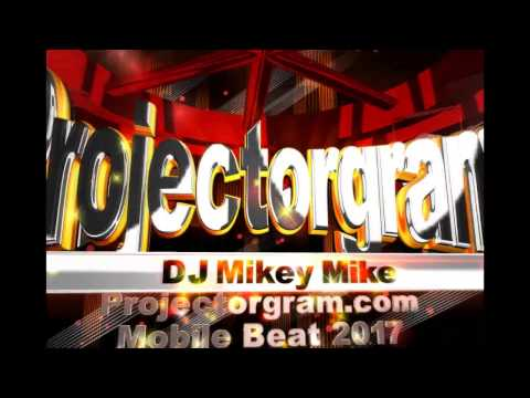 Projectorgram Digital Gobos at MBLV with DJ Mikey Mike & Direct Sound
