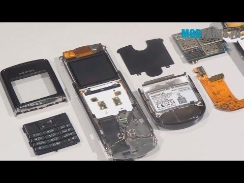 Видео обзор телефона Nokia 8800 Sapphire Arte Black Оригинал - YouTube