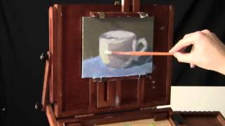 Painting A Mug - Real-Time Acrylic Painting