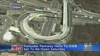 Helix Road Near GWB To Re-Open