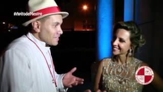 Mônica comenta como foi o show da bateria de samba show Apito de Mestre Buffet Torres