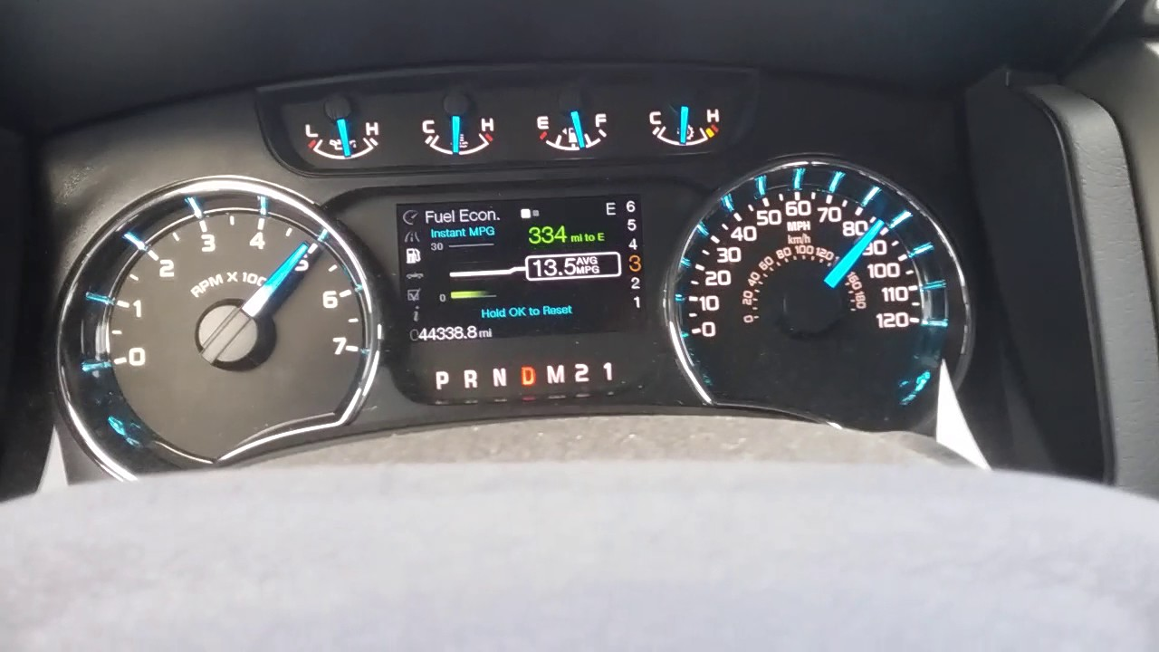 Ford F150 5.0 top speed - YouTube