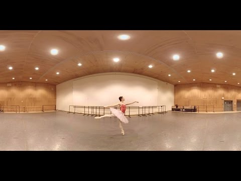 Backstage with an Elite Ballerina (360 Video)